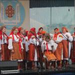 Учасники художньої самодіяльності з села Космача