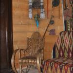 Крісло-качалка в музеї-садибі Михайла Грушевського