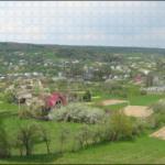 Село Молодятин. Вид з Бунькової гори